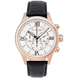 Montegrappa Fortuna Chronograph Men's Rose Gold Watch IDFOWCRJ Swiss Made