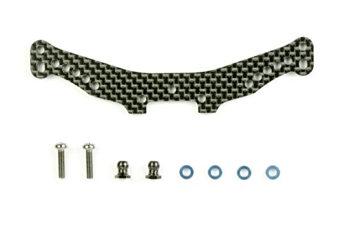 Tamiya Rear Carbon Damper Stay: TA05 (Rear Ta05)