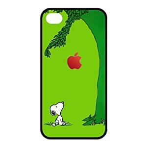 Cartoon Peanuts Protector Snoopy Hard Case Cover for Iphone 4 4s Retail Packing