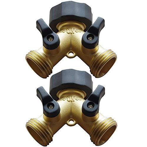 y valve garden hose connector - 8