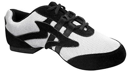 Sansha Salsette 1 Unisex Dans Sneakers Wit