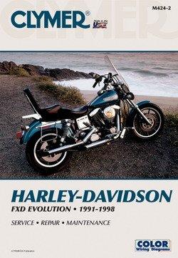 harley davidson dyna glide softail evo evolution 1991 1998 clymer rh amazon co uk Harley Davidson Choppers Harley Riders