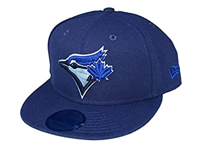New Era Cap Company, Inc. Toronto Blue Jays Snapback Adjustable One Size Fits Most Hat - Navy Blue by New Era Cap Company, Inc.