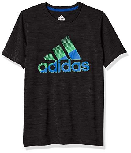 adidas Boys' Short Sleeve Moisture-Wicking Boss Logo T-Shirt 1