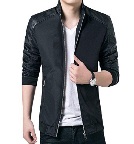 Vogue Leather Blazer - 2