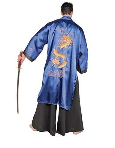Underwraps Men's Samurai, Blue/Black, One Size