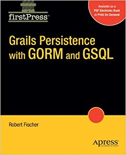 Book Grails Persistence with GORM and GSQL