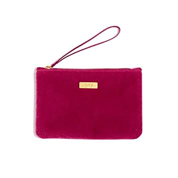 57414ea039 Amazon.com   Ipsy December 2016 Fuschia Fur Cosmetics Bag - Wristlet - Makeup  Bag Only   Beauty