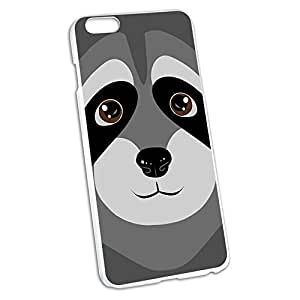 Raccoon - Cute Snap On Hard Protective Case for Apple iPhone 6 6s Plus