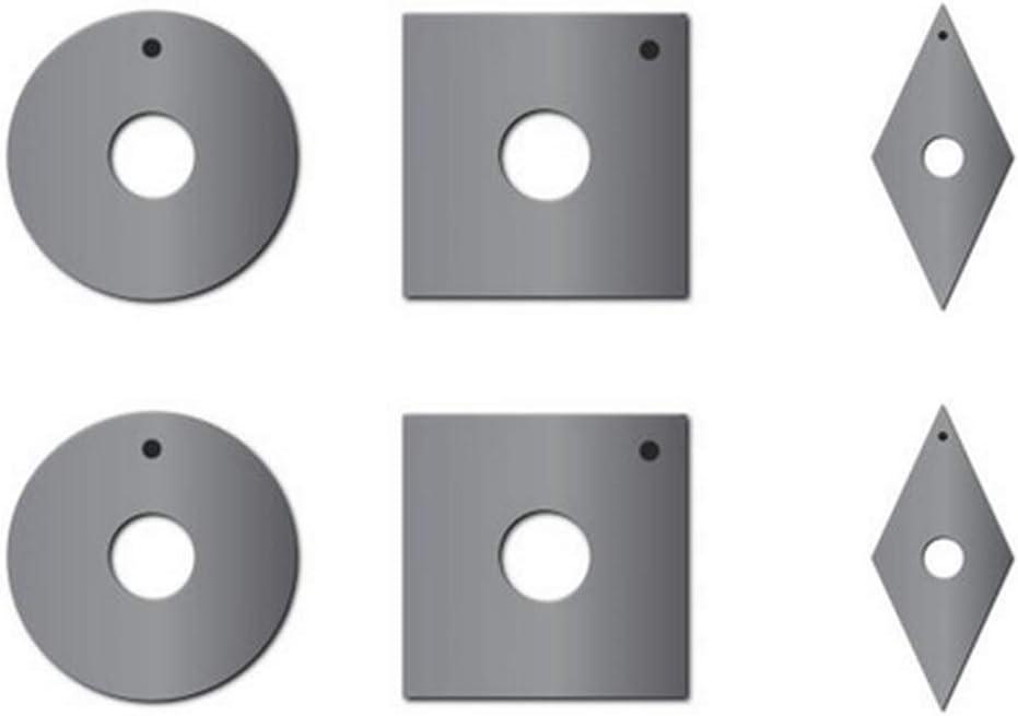 Rikon 70-800 4-Piece Woodturning Set with Carbide Inserts