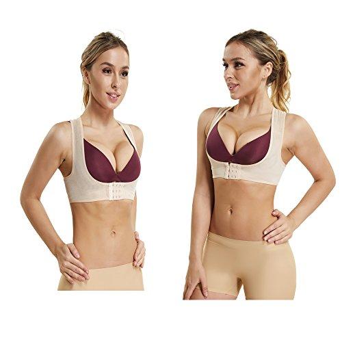 Compression Bra Support Body Shaper for Women Adjustable Posture Corrector Hunchback Relief