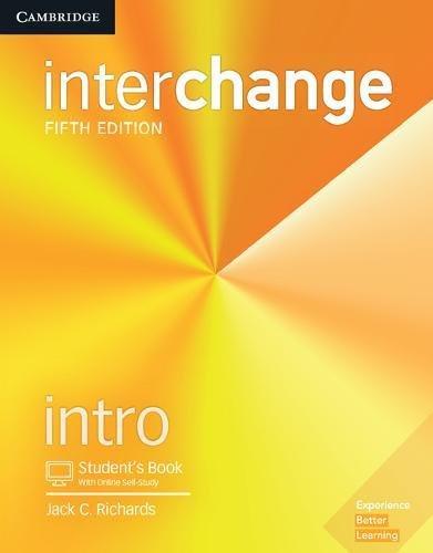 Interchange Intro Student's Book with Online Self-Study