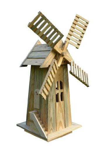 Shine Company Decorative Windmill, Natur - Well Cover Shopping Results