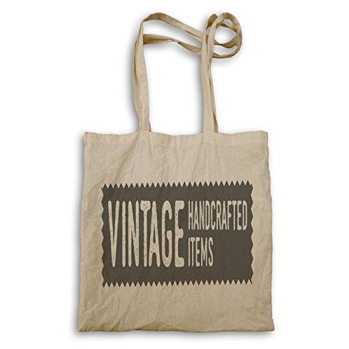 Retro Vintage Kunst Tragetasche q356r