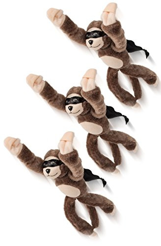 Slingshot Flying Monkey (Playmaker Toys Not Available Set of 3 Flying Flingshot Howler Monkeys Plush Toys with Sound, 11.5''H)