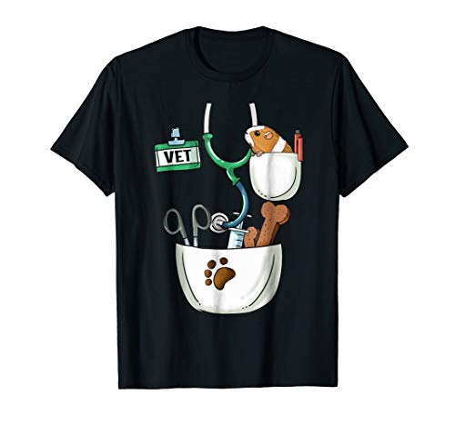 Veterinarian Halloween Costume Shirt Vet Tech Kids And