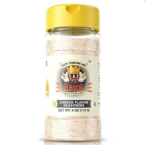 Flavor God Cheese Flavor Seasoning, 4 OZ (113 G) (4 God Seasonings)