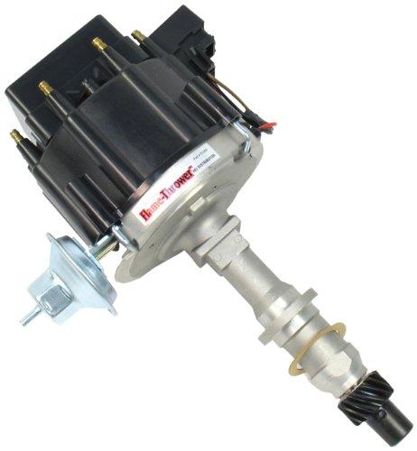 - PerTronix D1200 Flame-Thrower Black Cap Distributor HEI for Pontiac Small Block/Big Block