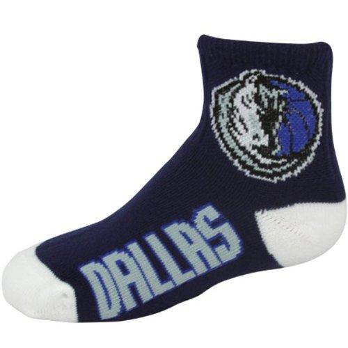 NBA Dallas Mavericks Men's Team Quarter Socks, Large ()