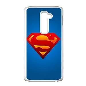 LG G2 Phone Case White Superman HDS344376
