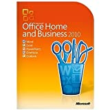 Microsoft Office 2010 Home and Business DVD Includes Genuine Product Key and COA
