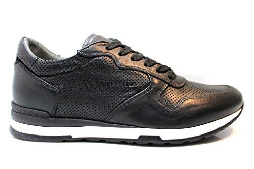 Nero Giardini - Zapatillas de Piel para hombre negro