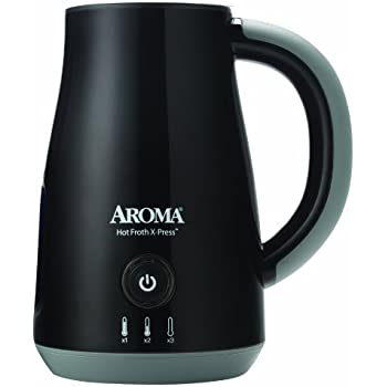 Aroma Housewares AFR-120B Hot X-Press Milk Frother