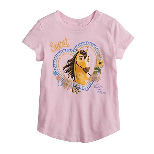 (Jumping Beans Little Girls' 4-12 Run Free Spirit Tee 5)