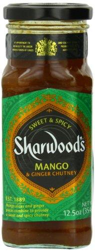 Sharwood Mango Ginger Chutney, 12.5 Ounce