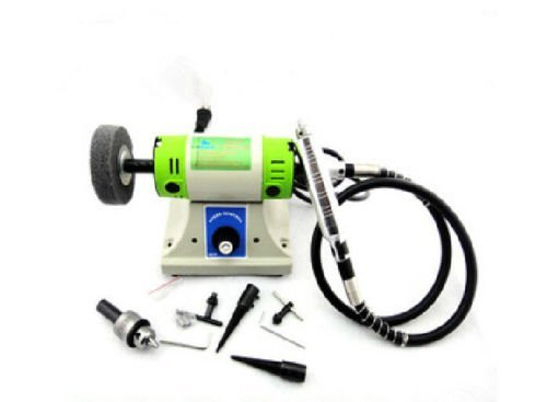 - Multifunctional Mini Bench Lathe Machine Electric Grinder / Polisher / Drill / Saw Tool Multi use polisher machine sander bench lathe grinder 10000rpm 6.5mm chunck 380w