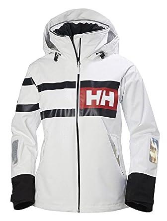 Helly Hansen W Salt Power Jacket, Mujer, White, S: Amazon.es ...