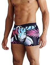 COOFANDY Zwemshorts voor heren, zwembroek, veelkleurig, sneldrogend, strandshorts, strandshorts, boardshorts, S, M, L, XL, XXL