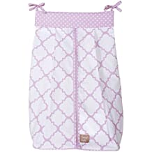 Trend Lab Orchid Bloom Diaper Stacker, Purple