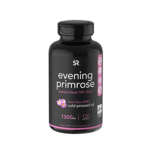 Evening-Primrose-Oil-1300mg-120-Liquid-Softgels-Cold-Pressed-with-No-fillers-or-Artificial-Ingredients-Non-GMO-Gluten-Free
