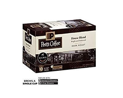 Peet's Coffee House Blend 120 K-Cups by Peet's Coffee