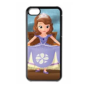 Sofia the First Once Upon a Princess iPhone 5c Cell Phone Case Black PGR