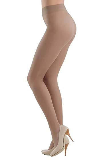 Womens Tights, 15 Den pack of 3 Dim