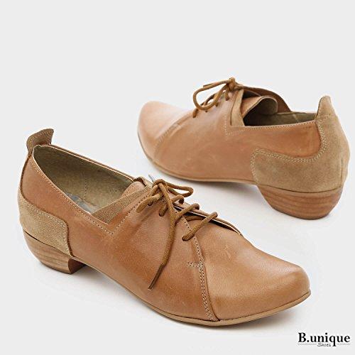 Lacets B de Chaussures à Peau pour Femme Unique Ville q66TwgBxX
