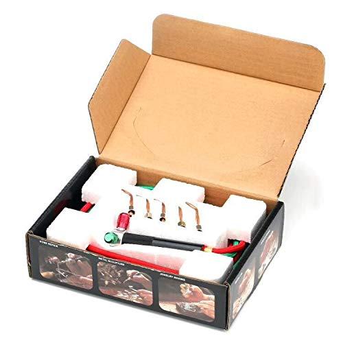 Cimic Joyeros Soldadura con 5 Puntas, mangueras Mini Gas pequeña antorcha Soldador Kit de Soldadura: Amazon.es: Hogar