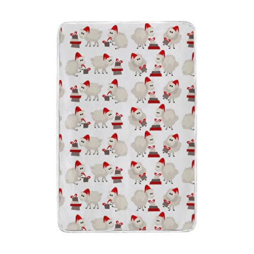 Jonassk Woolffk Im Sheeps Clothing Soft Blanket All Season Comfort Super Soft Warm Plush Blanket Fuzzy Light Warm Wool Blanket Sofa Bed, 60x90 Inches