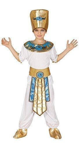 Boys Ancient Egyptian Ruler Pharaoh King Historical Fancy Dress Costume 5-12 yrs (10-12 Years)