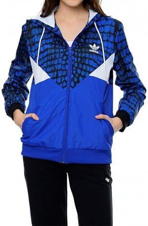 Veste coupe vent Colorado Bleu Femme Adidas: