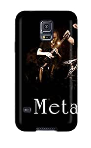 Excellent Galaxy S5 Case Tpu Cover Back Skin Protector Metallica St Anger