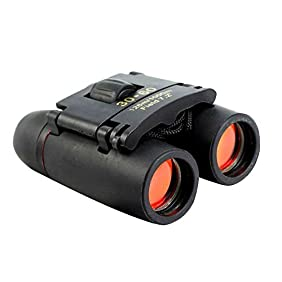 Sminiker Professional 30x60 Folding Binoculars Telescope for Travel and Sports Bird Watching (Black)