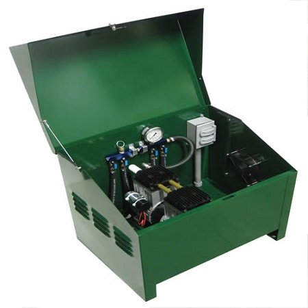 1/2 HP Sentinel Rocking Piston Deluxe Pond Aeration System PA66AD Tubing NOT Included