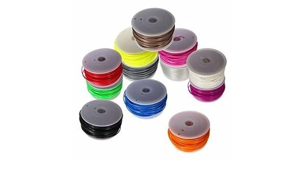 3 mm Impresora 3d PLA Filamento para MakerBot Mendel Printrbot ...
