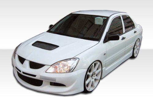 Skirts Evo Side 4 (2004-2006 Mitsubishi Lancer Duraflex Evo 8 Body Kit - 4 Piece - Includes Evo 8 Front Bumper Cover (103716) Walker Rear Bumper Cover (100576) Walker Side Skirts Rocker Panels (100577))