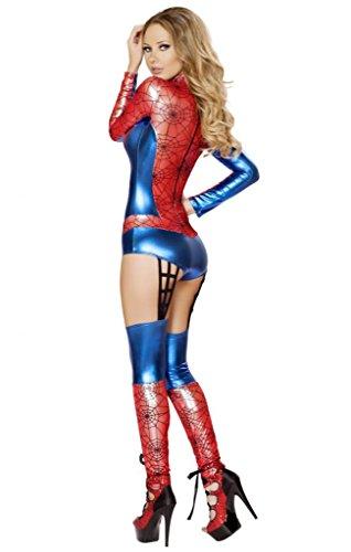 Sexy spiderman girl
