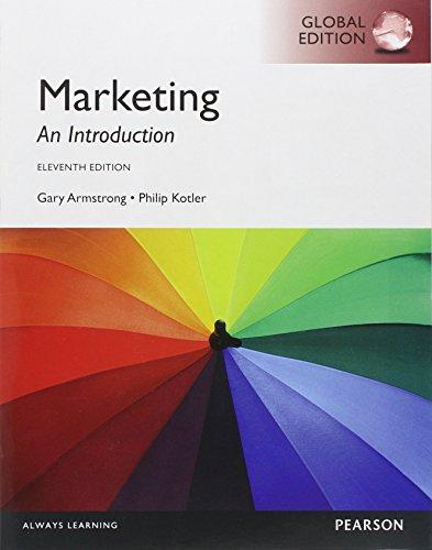 Marketing: An Introduction. Gary Armstrong, Philip Kotler (LIVRE ANGLAIS)
