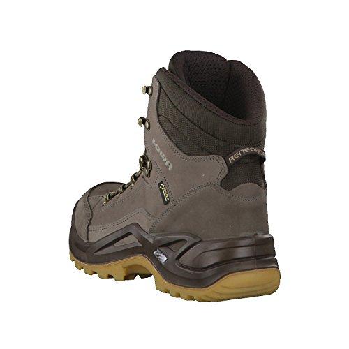 Lowa Renegade GTX M, Stivali da Escursionismo Alti Uomo Grau (Stein/dunkelbraun)